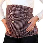 Bandeau de grossesse droit étoiles