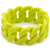 Bracelet maman Chewbeads Stanton Chartreuse