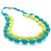 Collier maman Chewbeads Astor chartreuse