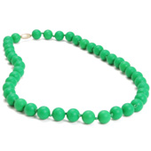 Collier maman Chewbeads Jane Emerald green