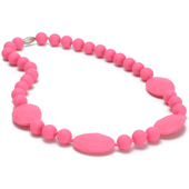 Collier maman Chewbeads Perry Punchy Pink