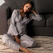 Pyjama grossesse allaitement Manon