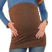 Bandeau de grossesse droit choco