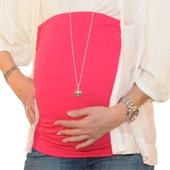 Bandeau de grossesse droit rose