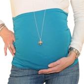 Bandeau de grossesse froncé