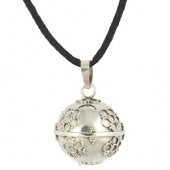 Bola de grossesse Flower Silver