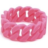 Bracelet maman Chewbeads Stanton Punchy Pink
