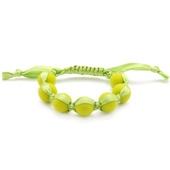 Bracelet maman Chewbeads Cornelia Chartreuse