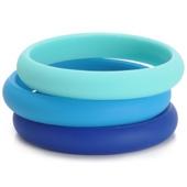Bracelets maman Chewbeads Skinny Charles Bangle Cobalt