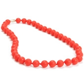 Collier maman Chewbeads Jane Cherry red
