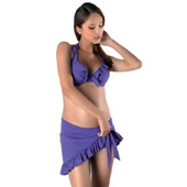 Paro de grossesse salsa violet