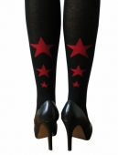 Collants de grossesse star noirs