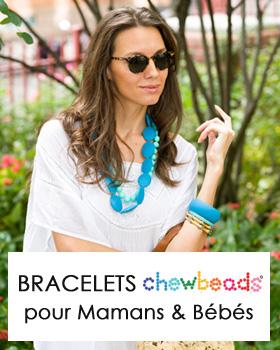 Bracelets maman Chewbeads silicone