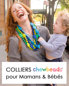 Colliers maman Chewbeads silicone