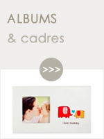 Albums photos naissance et cadres photo bébé